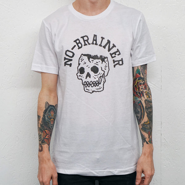 No-Brainer White T-Shirt