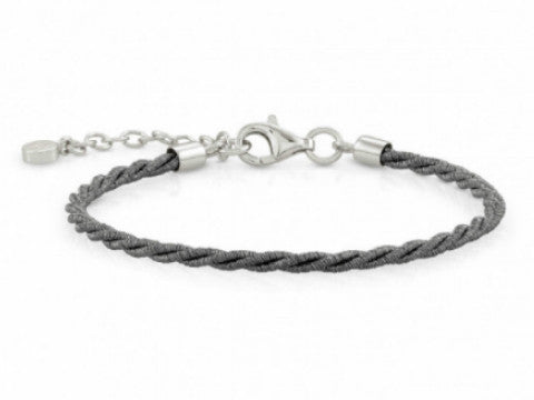 Mesh Rope Bracelet in Sterling Silver