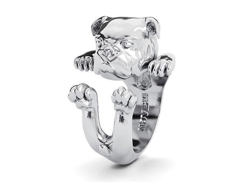 Boston Terrier Hug Ring