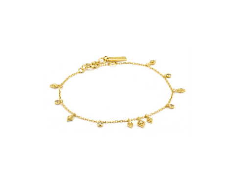 Gold Bohemia Bracelet in Sterling Silver