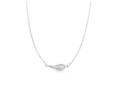 Angel Wing Necklace in 14K Gold