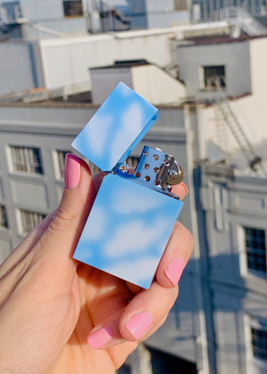 CLOUD (REFILLABLE) LIGHTER