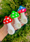 Cute mushroom pipe smoking accessories made of silicone so it won't break
