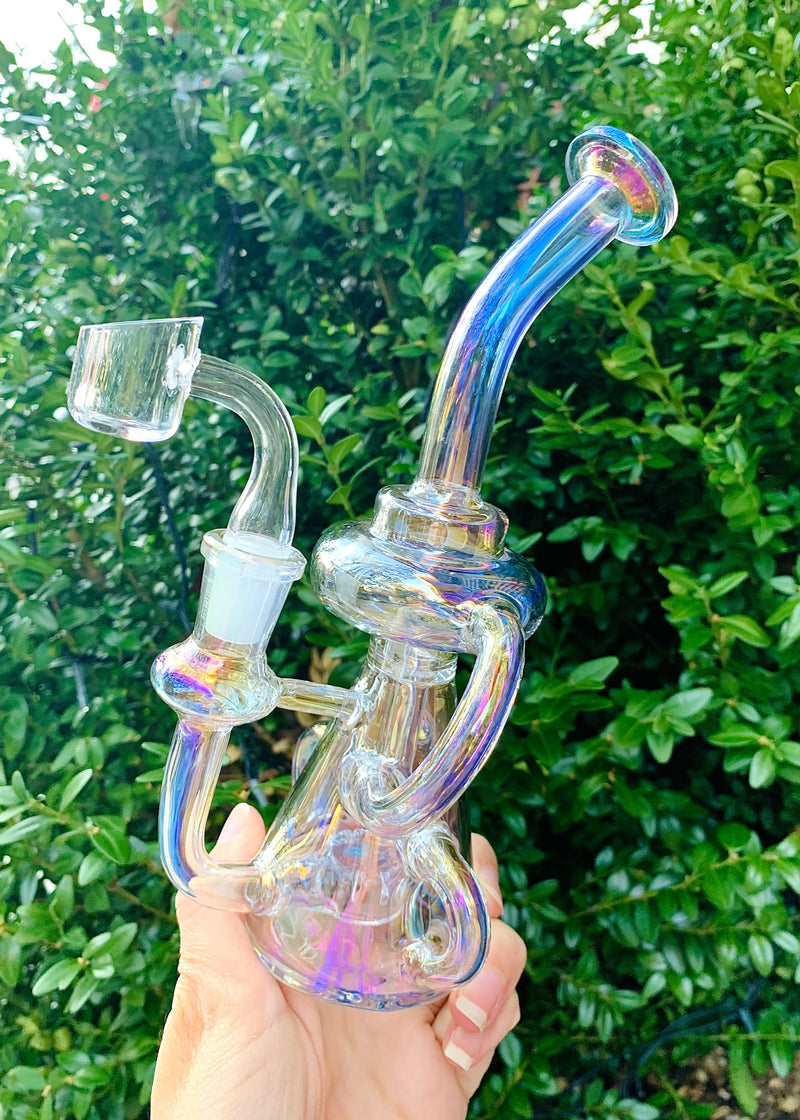 IRIDESCENT RECYCLER DAB RIG