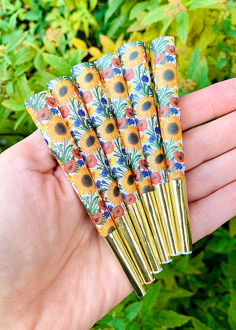 SUNFLOWER CONES (6-PACK)