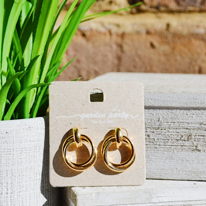 Ali's Doorknocker Earrings - Birdsong Designs Online