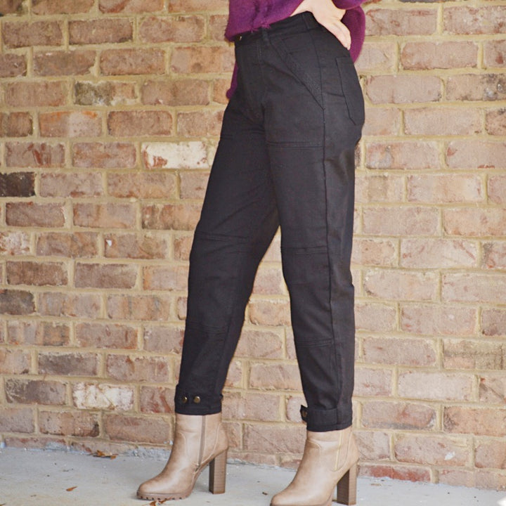 Still Got It Black Ankle Length Pants - Birdsong Designs Online