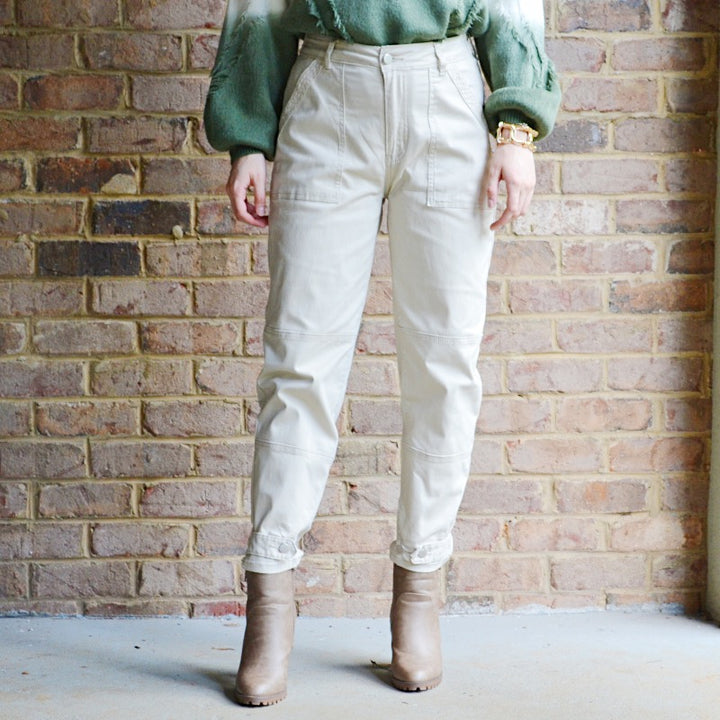 Still Got It Khaki Ankle Length Pants - Birdsong Designs Online