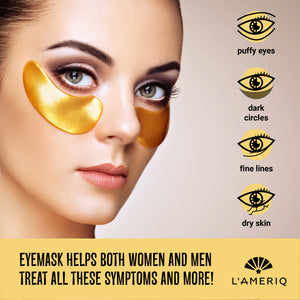 Golden Eye Recovery Eye Mask (15 pairs)