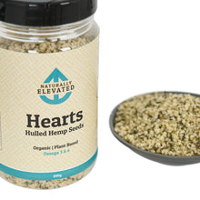 Load image into Gallery viewer, Hearts - Hulled Hemp Seeds, 200g