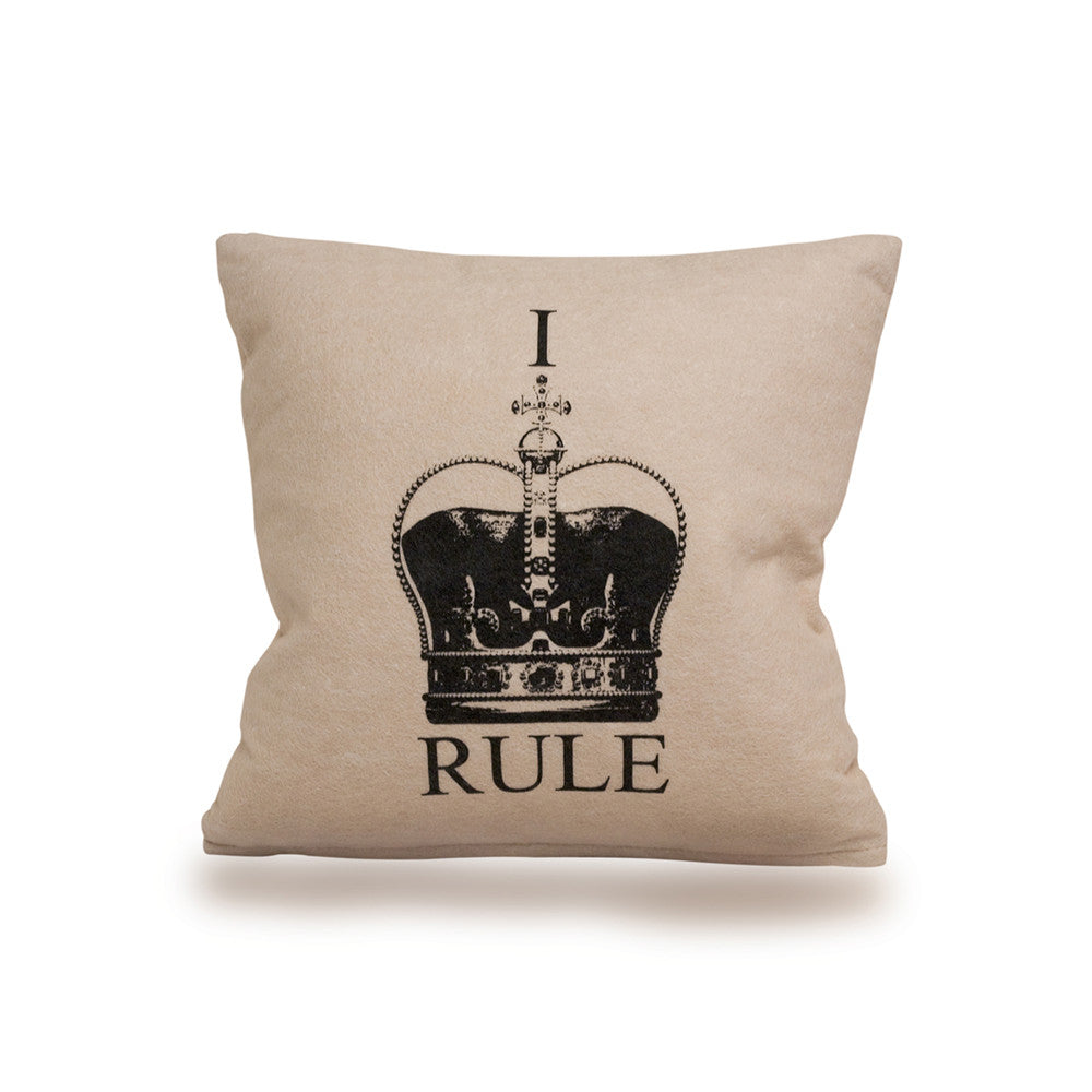 I Rule Cushion