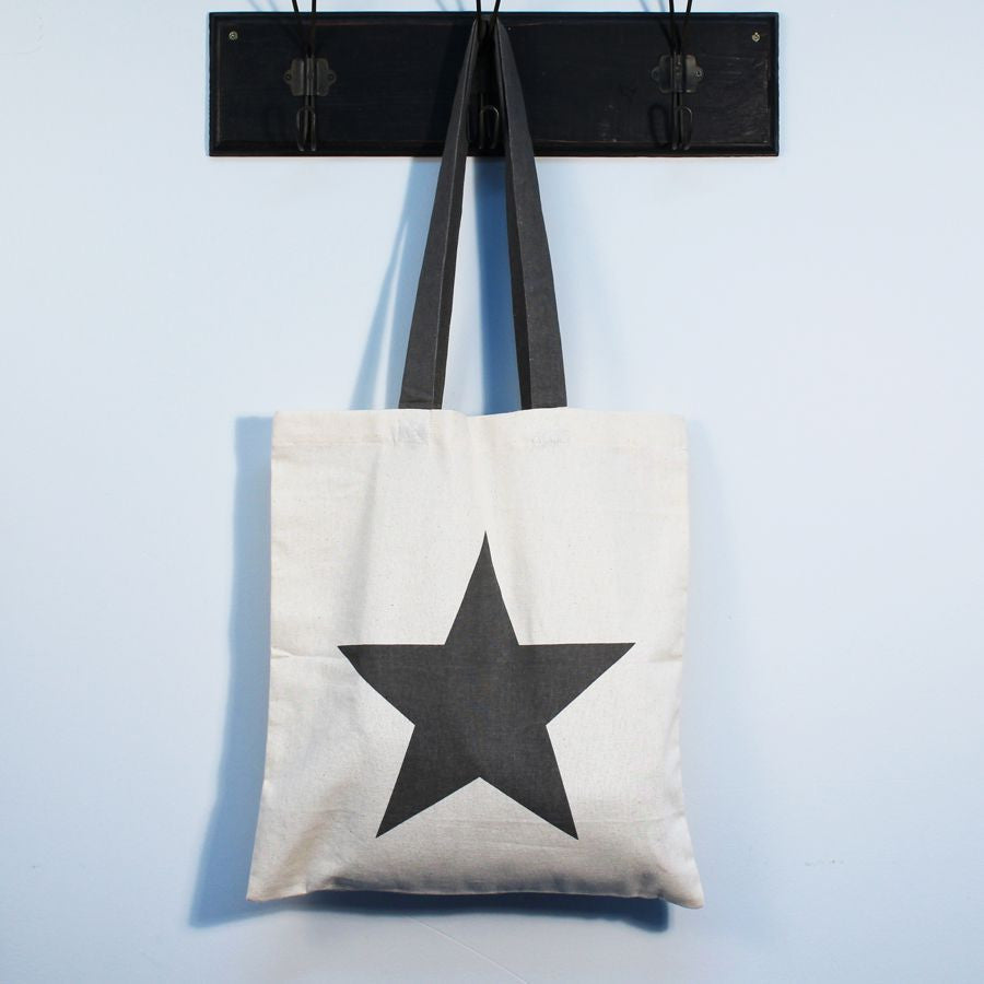 Star Cotton Tote Bag