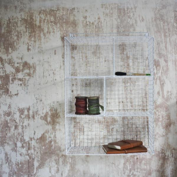Nkuku Wire Shelf Display Available from www.rawxclusive.co.uk