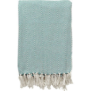 Copy of Cotton Throw - Sea Green