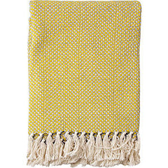 Cotton Throw - Lemon