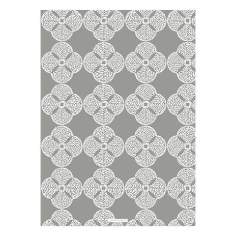 Antibes Taupe Gift Wrap - 2 Sheets