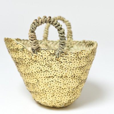 Mini Beldi Basket - Gold