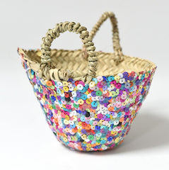 Mini Beldi Basket - Multi Colour