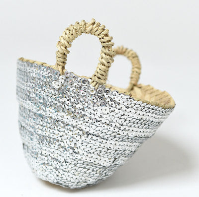 Mini Beldi Basket - Silver