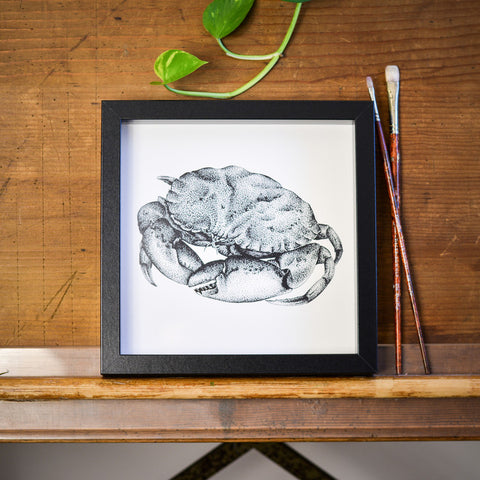 Crab Print by Die Monde