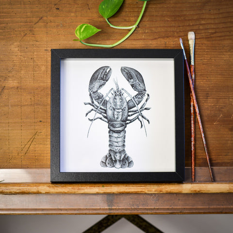 Lobster Print by Die Monde