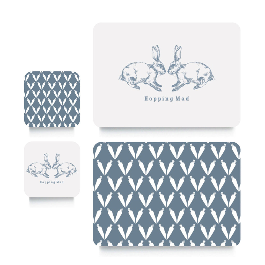 Coaster or Placemat - Bunny & Carrot