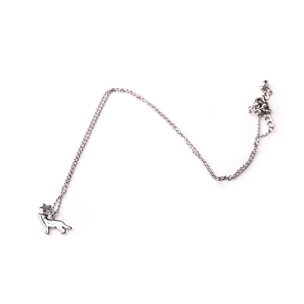 Dog Necklace - Silver