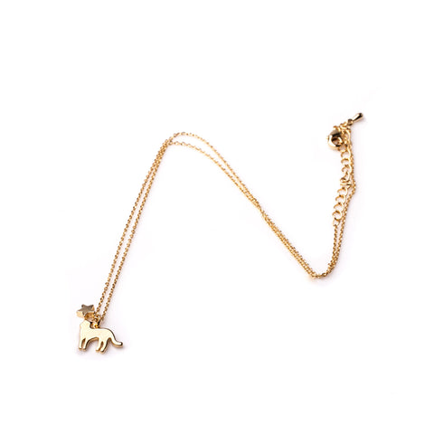 Cat Necklace - Gold