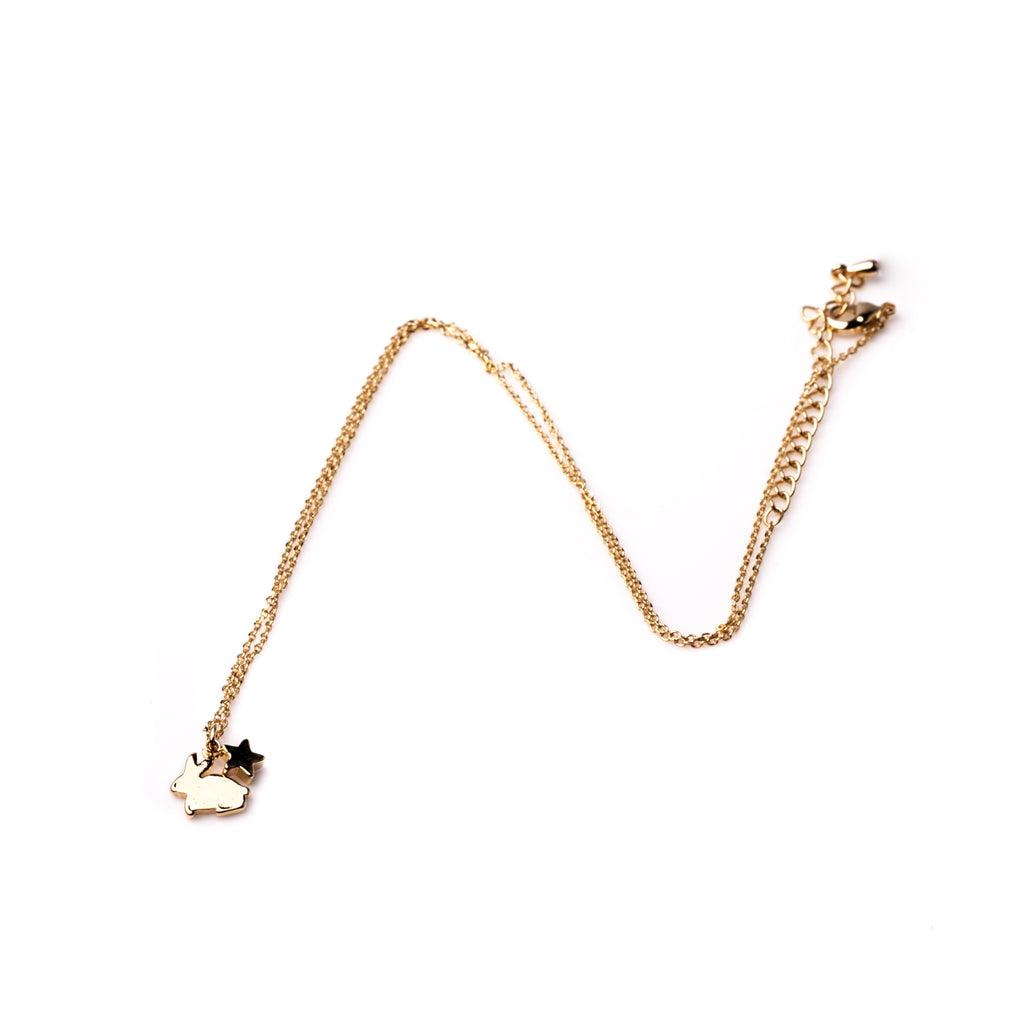 Bunny Necklace - Gold