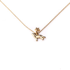 Dog Necklace - Gold