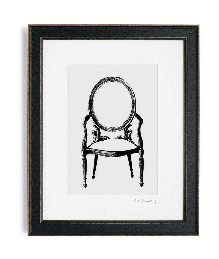 RawXclusive Louis Chair Print Available from www.rawxclusive.co.uk