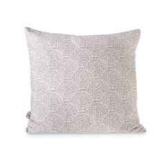 Square Linen Cushion - Shell Taupe