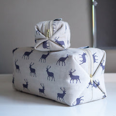 Box Bag Collection - Stag Grey