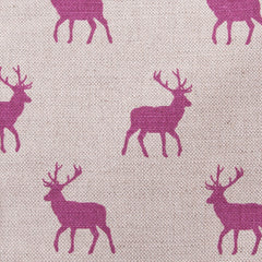 Stag Pink Linen Fabric