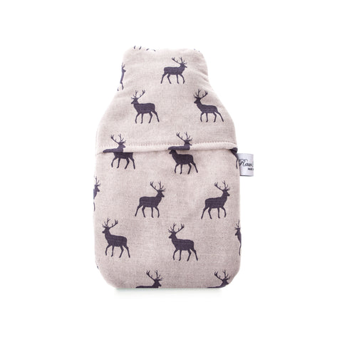Stag Grey 1 Litre Hot Water Bottle