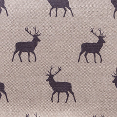 Stag Grey Linen Fabric