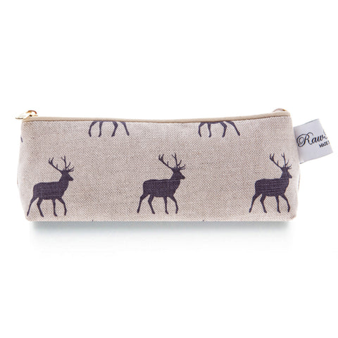 Pencil Case - Stag Grey
