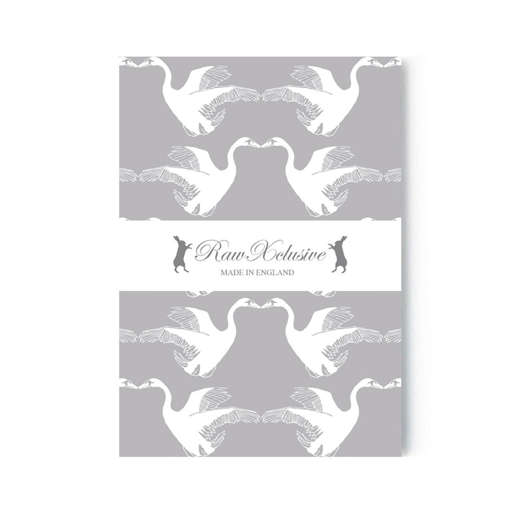 Set of Two A5 Notebooks - Swans