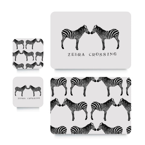 Coaster or Placemat - Zebra Crossing