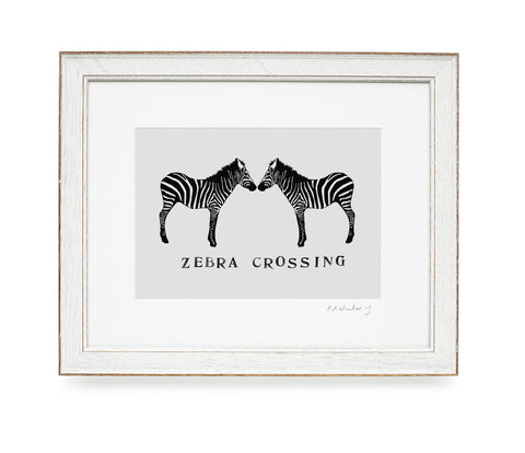 Zebra Crossing Print