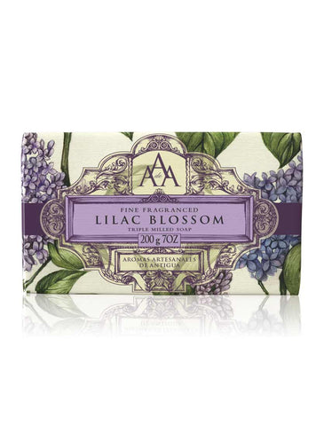 Wrapped Floral Soap Bar - Lilac Blossom