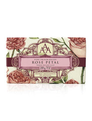 Wrapped Floral Soap Bar - Rose Petal
