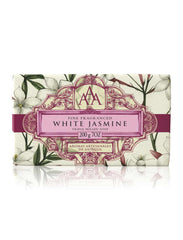 Wrapped Floral Soap Bar - White Jasmine