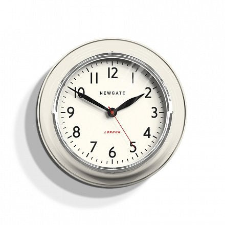 The Cookhouse Wall Clock - Cream