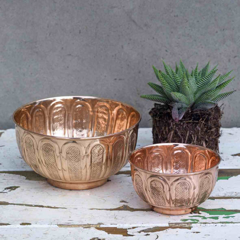 Afra Copper Bowls