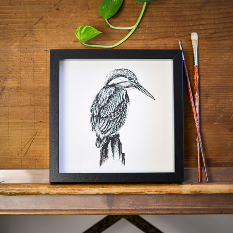 Kingfisher Print by Die Monde