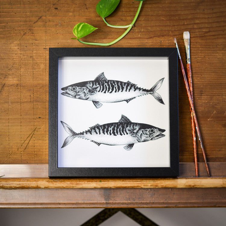 Mackerel Print by Die Monde Available from www.rawxclusive.co.uk