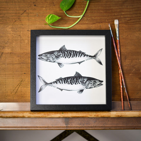 Mackerel Print by Die Monde