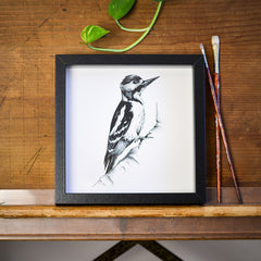 Woodpecker Print by Die Monde Available from www.rawxclusive.co.uk