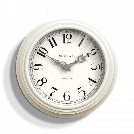 The Dormitory Wall Clock - Cream
